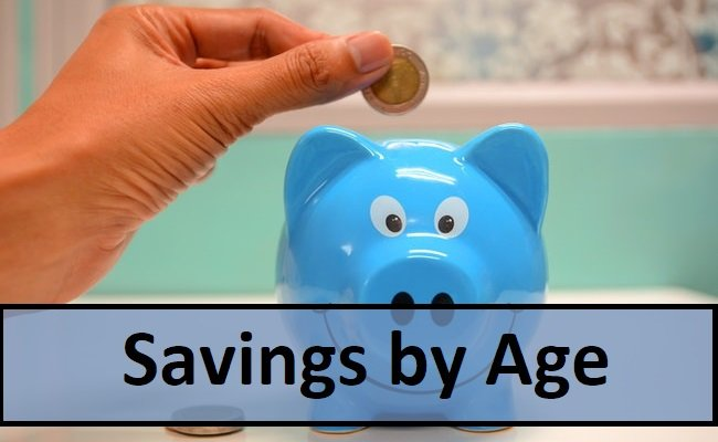 Savings by age